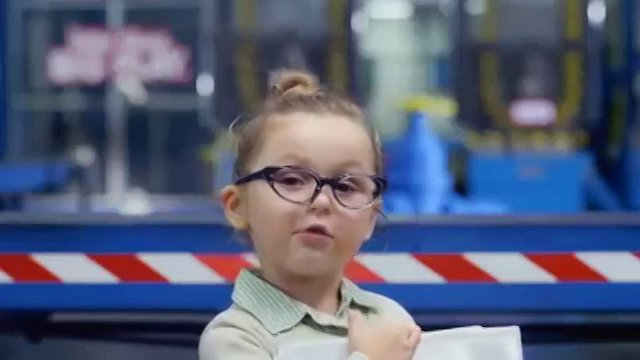 Emily Emmersen in Little Tikes commercial