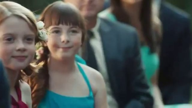 Hannah Stock in David's Bridal commercial