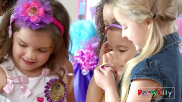 Bailey Bucher and Addison Aguilera in Party City commercial