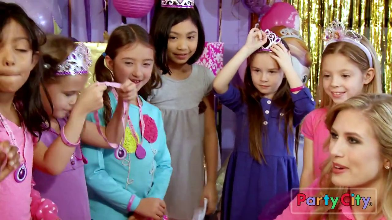 Harmony Chasson and Charlize Cramer in Party City commercial