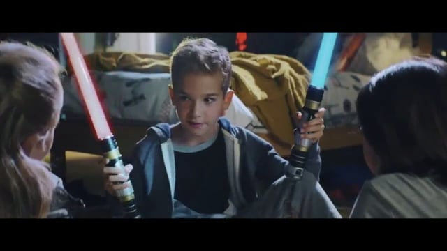 Hunter Maki v-o Star Wars Range TV Commercial, 'Choose Your Path'