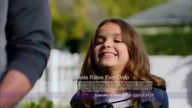 Bailey Bucher in Loan Depot 'We Believe in You' Commercial
