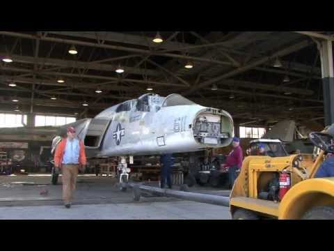 Castle Receives A North American Rockwell RA-5C Vigilante