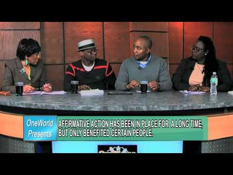 "OneWorld Presents ""Education Agenda"" - Race, Poverty and Education"