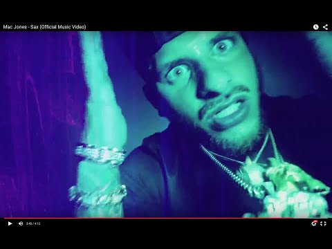 Mac Jones - SAX (Official Music Video)