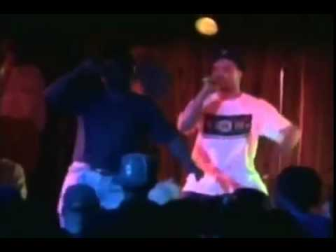 KOKANE , 2PAC , AND BIG HUTCH live on stage in 92'