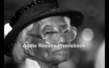 Addie Reeves Phonebook