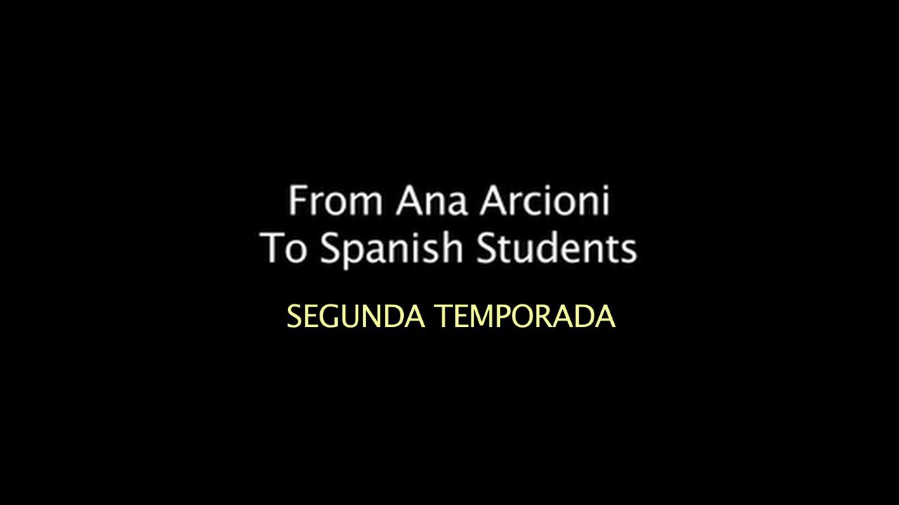 Spanish Lessons2 - V ¡Manos a la obra!