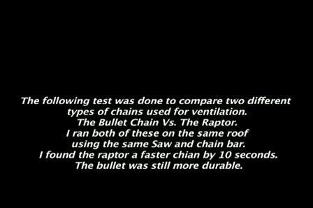 Ventilacion : La Bullet Chain Vs. La Raptor