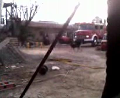 Simulacro de incendio con victimas atrapadas 3