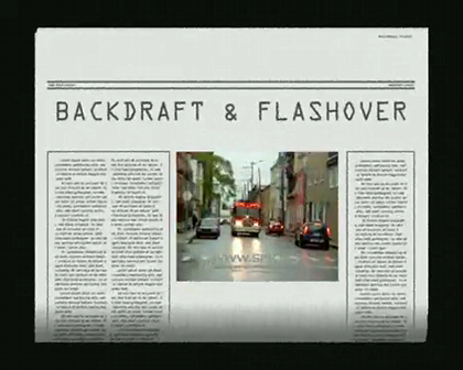BACKDRAFT & FLASHOVER