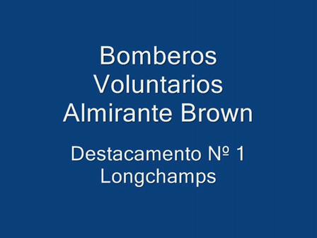 Bomberos Voluntarios Longchamps