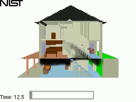 House 3D Smoke