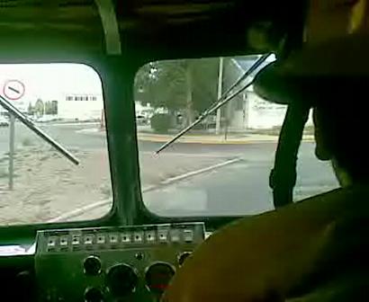 Abordo, Comodoro Rivadavia, Argentina / Abordo Movil 17 - Pasando por ruta 3, llendo a un incendio