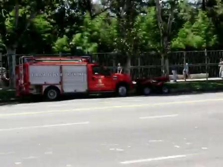 un bombero en palermo