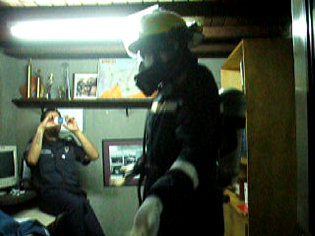 BOMBERO BAILANDO, ASUNCIÓN EN PARAGUAY