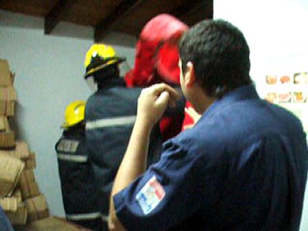 Bomberos de Asuncion Captura de Mono / Paraguay