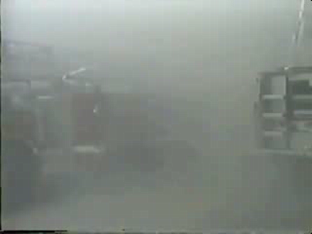 Por esta razon le dicen la ciudad de los vientos: Camion de Bomberos demasiado cerca debe ser retirado para preservarlo / Chicago, Estados Unidos