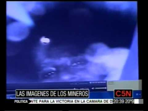 Primer video de los mineros dentro de la mina / Video Destacado de La Hermandad de Bomberos