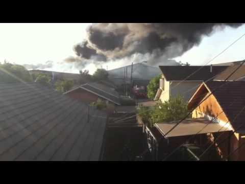 CHILE Incendio serplas