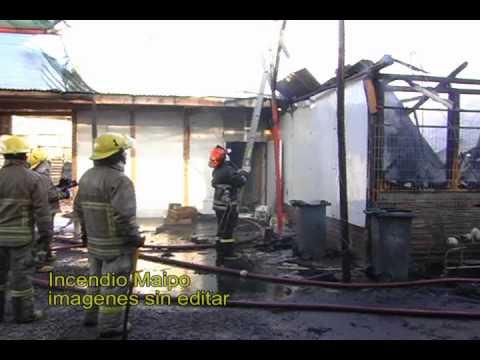 CHILE incendio maipo 1 sin editar
