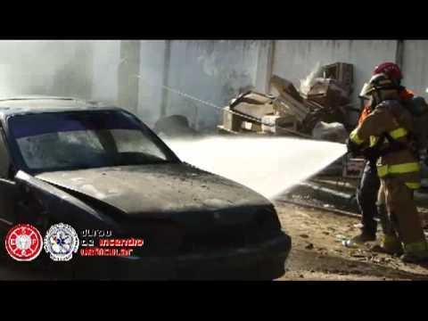 """Curso de Incendio Vehicular """"CIVE"""" / Organizado por ESFO en Asunción / Paraguay / Video Destacado de La Hermandad de Bomberos"""