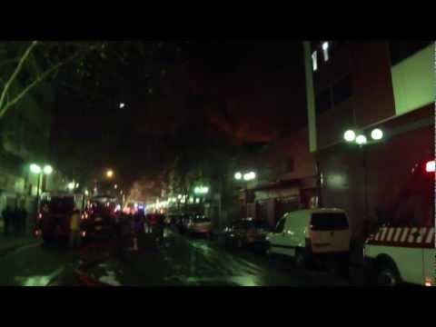 CHILE 5ta. Alarma de Incendio C.B.S.  S.F.D 5th. Alarm