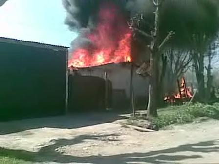 incendio de vivienda generalizado