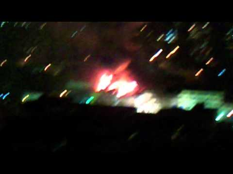 CHILE Incendio en La Polar San Diego