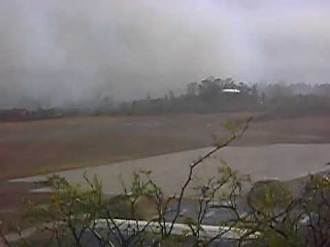 aproximacion en incendio forestal B 727/200