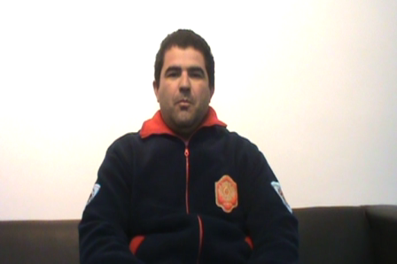 Saludo de Marcelo Paredes Jefe del Cuerpo de Bomberos Voluntarios de Ceibas, Provincia de Entre Río…