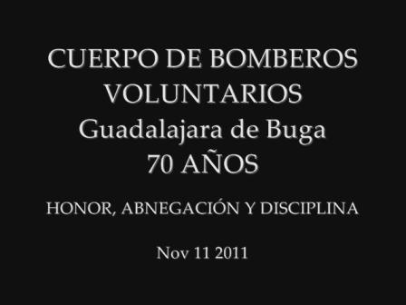 CBV BUGA 70 AÑOS nov 11 2011