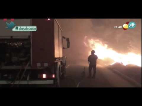 Incendio Forestal de La Girona / España