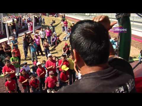 Promueven prevención de accidentes los Pequeños Vulcanos de Ecatepec / México