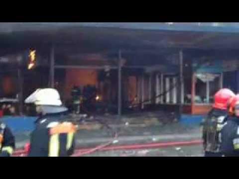 Desempeño del Helicoptero / Incendio en Valdivia, Galeria Nass y Taboada / Chile