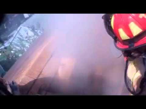 Ventilación en Incendio Estructural de Texas