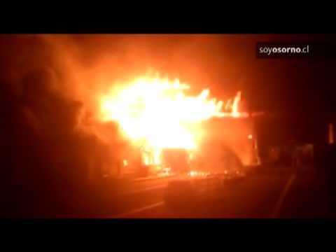 CHILE Un incendio consumió el edificio de Cardenal Samoré