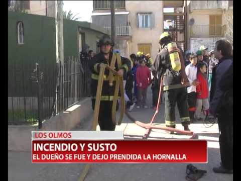 ALARMA DE INCENDIO DE DEPARTAMENTO, EN LOS OLMOS - BOMBEROS DE VILLA MARIA EN CÓRDOBA, ARGENTINA
