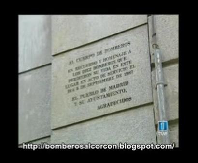 """BOMBEROS DE MADRID Y LA TRAGEDIA DE SALDOS ARIAS. Parte 1 """"A 20 AÑOS"""""""