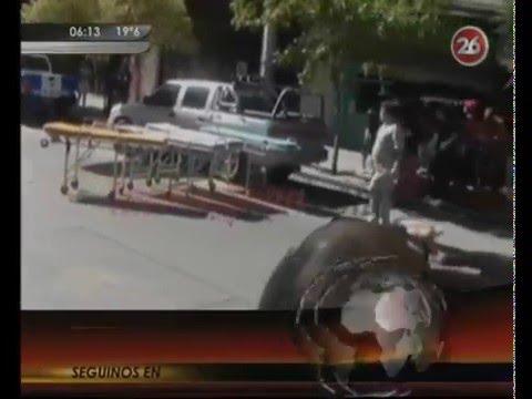 07 DE DICIEMBRE 2015 - INCENDIO DE SEXTO PISO EN EDIFICIO DEJA UN MUERTO Y DOS HERIDOS GRAVES - NEUQUEN EN ARGENTINA