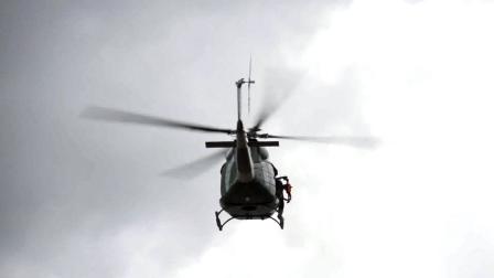 RESCATE CON HELICOPTEROS DURANTE EL INCENDIO DE EDIFICIO EN EL MINISTERIO DE HACIENDA - EL SALVADOR
