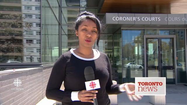 CAPTURADO EN VÍDEO: BOMBERO MUERE DURANTE UN EJERCICIO DE PRACTICA - TORONTO, CANADA