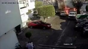 MAL MANEJO DE TANQUE DE GAS DE 3.000 LTS. DURANTE SU RECAMBIO PROVOCA INCENDIO