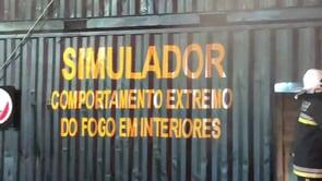 ENTRENAMIENTO CFBT EN SIMULADOR - BOMBEROS VOLUNTARIOS CONCORDIA, BRASIL
