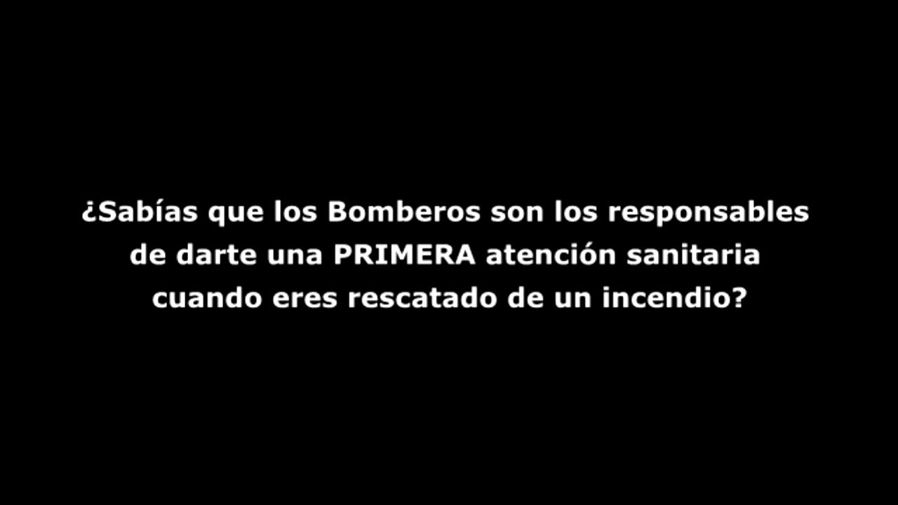 BOMBEROS DE MADRID SIN MATERIAL SANITARIO - ESPAÑA