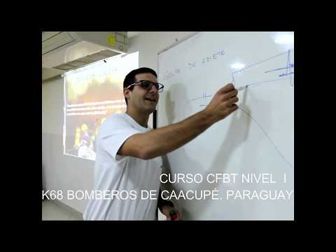 CURSO CFBT DE INCENDIOS ESTRUCTURALES EN CAACUPÉ, PARAGUAY 2018
