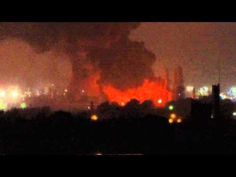 Incendio en YPF 02/04/2013
