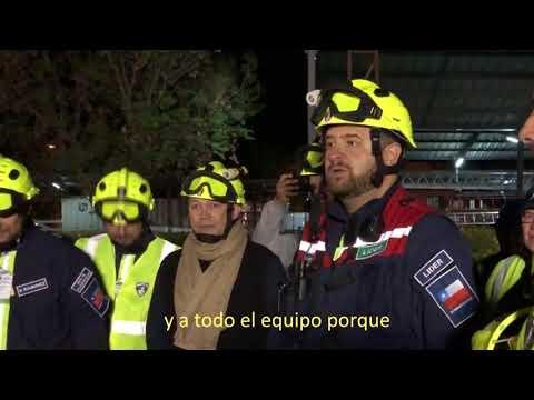 Clasificación USAR Bomberos de Chile (Nov-2017) - CHILE