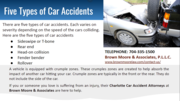 5 types of car accidents