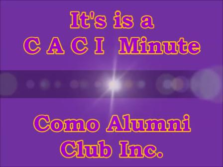 It's a C A C I Minute